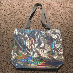 Metallic Athleta bag